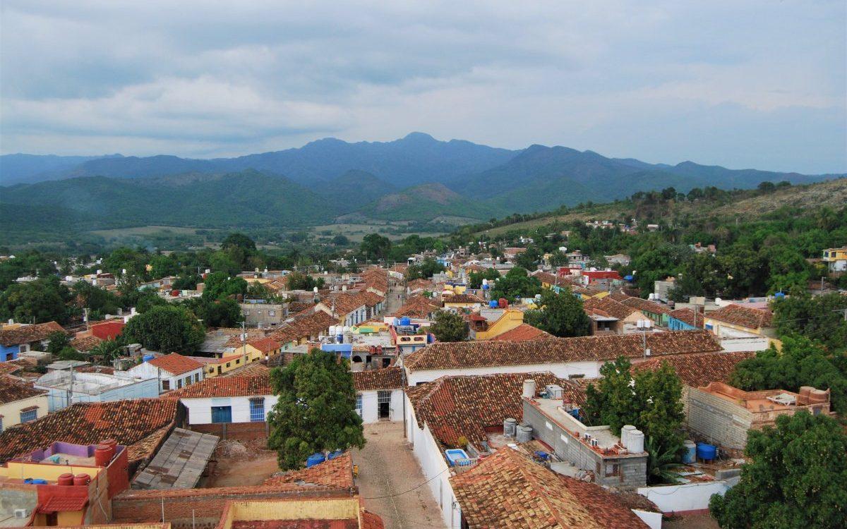 Ansicht der Sierra del Escambray von Trinidad aus