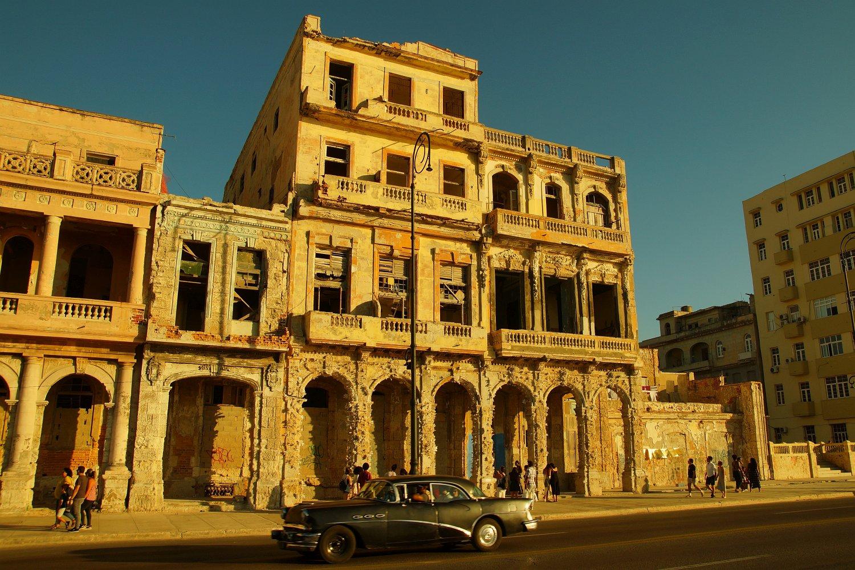 Malecon Havanna Ruinen