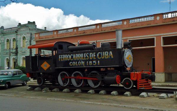 Eisenbahn Geschichte Kuba (Colon)