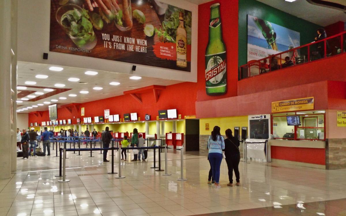 Havanna Flughafen Terminal 1