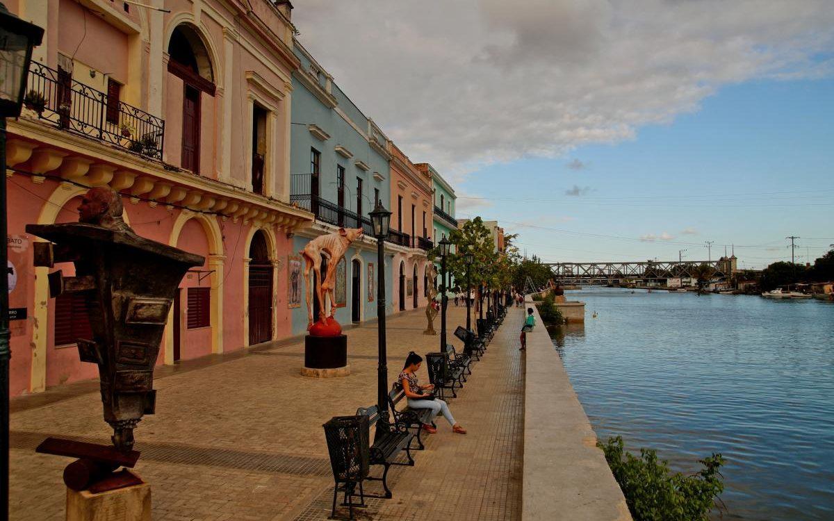 Matanzas - Ufer Rio San Juan & Brücke